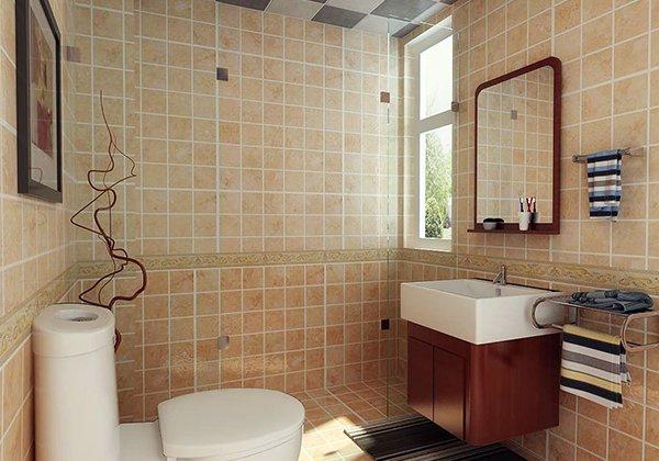 卫生间台盆装修设计